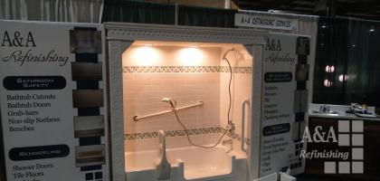Bathroom Safety Display:  Home & Garden Show