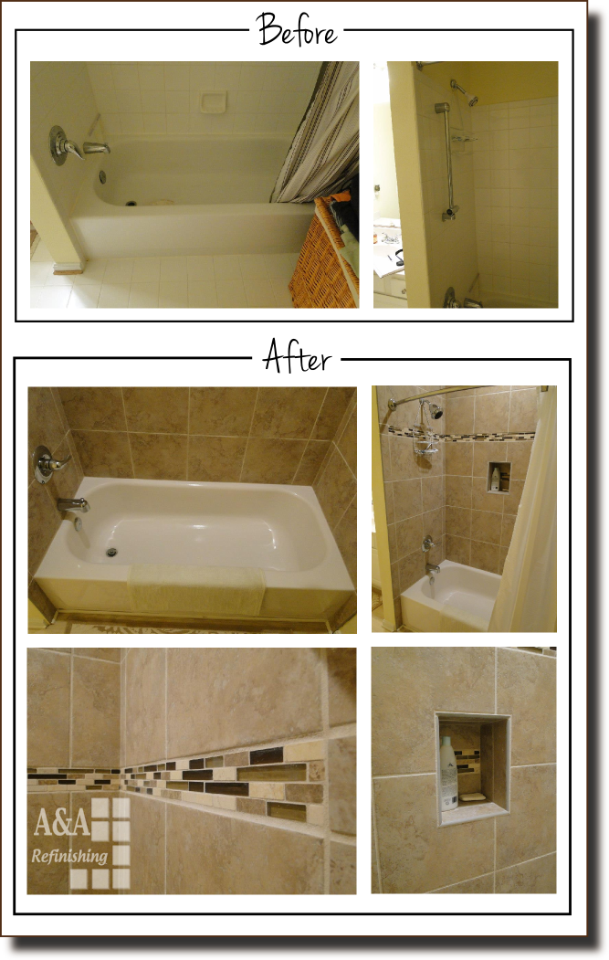 tile before after